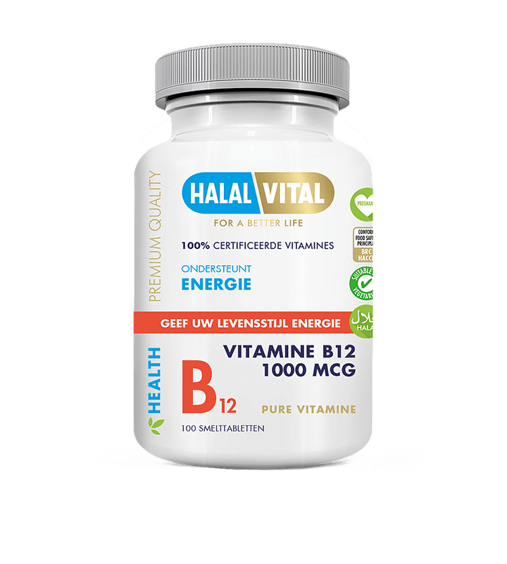Vitamin B12 Halal Pure & Natural